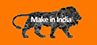 Logo of Make in India website